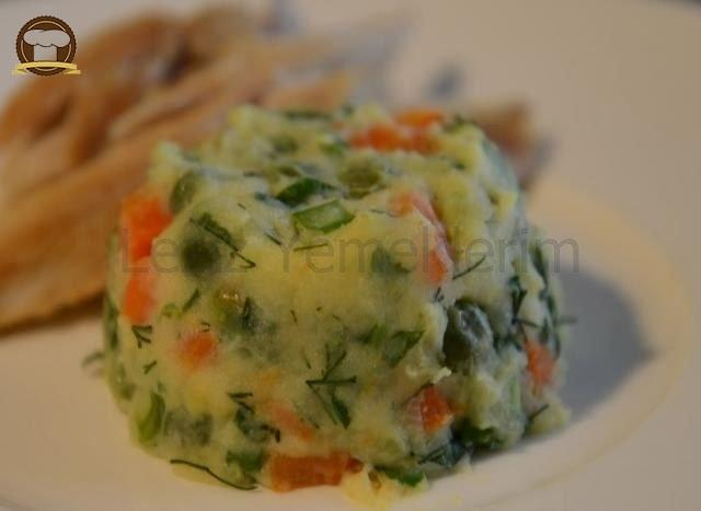 Sebzeli Patates Püresi