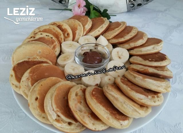 Tarçınlı Havuçlu Pankek