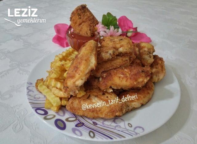Tavada Çıtır Çıtır Tavuk Kanatları