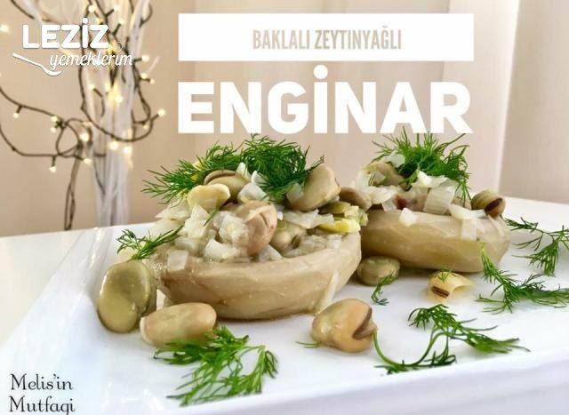 Baklalı Zeytinyağlı Enginar (Videolu)