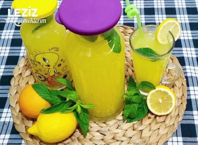 Nefis Ev Yapımı Limonata