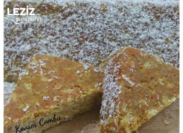 Havuçlu Mozaik Pasta (Harika Lezzet)