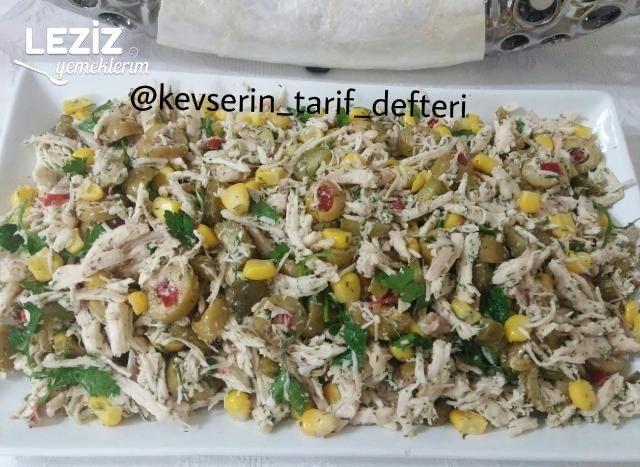 Lezzetli Tavuk Salatası