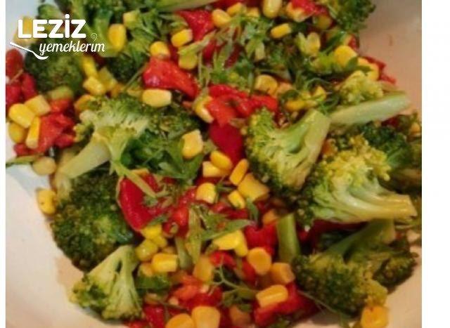 Mısırlı Brokoli Salatası