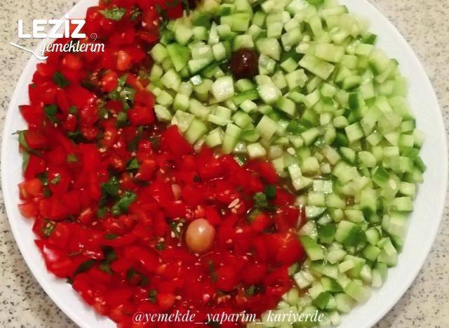 Ying Yang Salatası