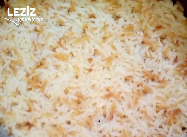 Arpa Şehriyeli Nefis Pirinç Pilavı