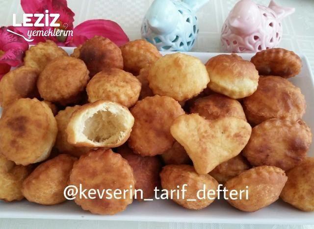 Karbonatlı Puf Puf Hamur Kızartması (Yumurtasız)