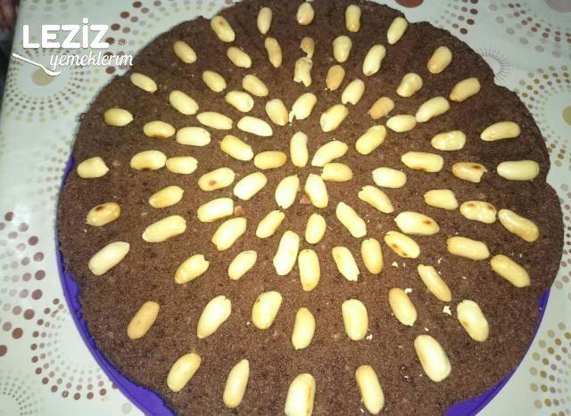 Çaylı Kakaolu Kek