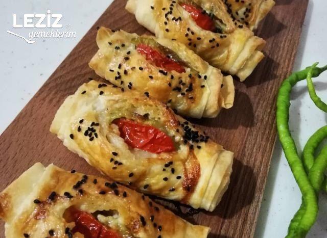 Sebzeli Karnıyarık Böreği