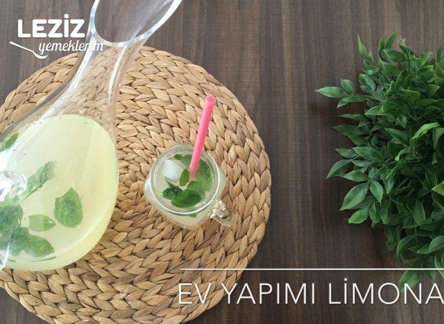 Ev Yapımı Limonata (Videolu)