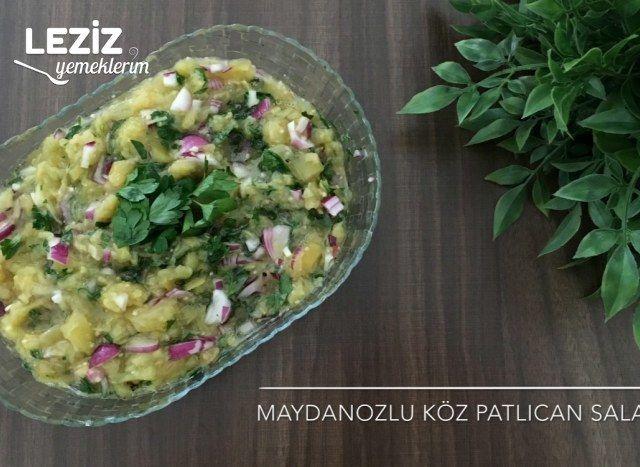 Maydanozlu Patlıcan Salatası
