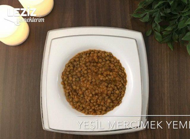 Yeşil Mercimek Yemeği (Videolu)