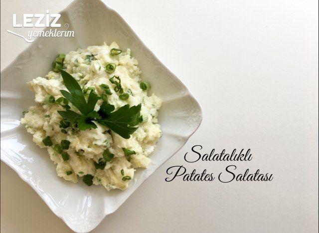 Salatalıklı Patates Salatası
