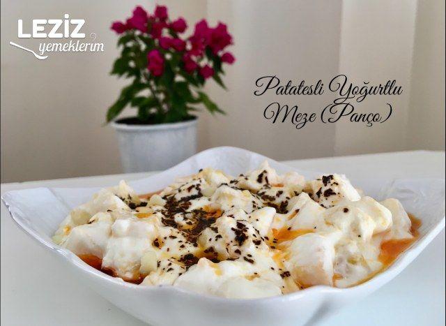 Patatesli Yoğurtlu Meze (Panço)