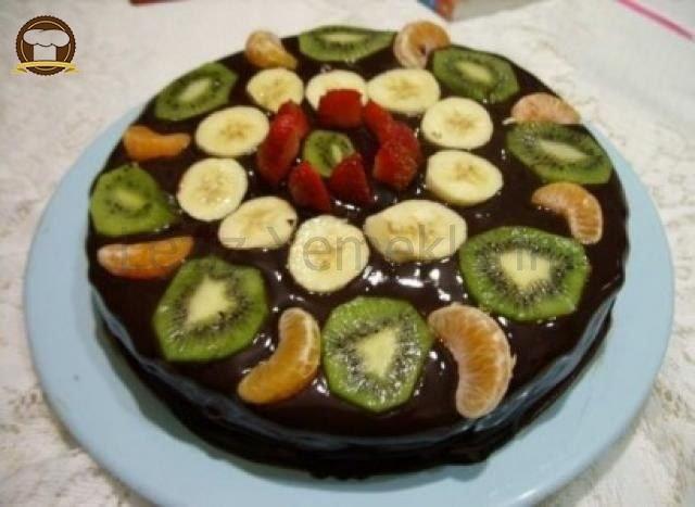 Çikolatalı Düğün Pastası