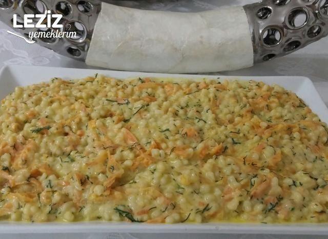Yoğurtlu Havuçlu Kuskus Salatası