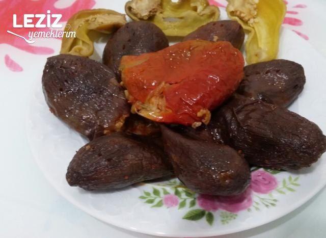Antep Usulü Kuru Dolma (Biber, Patlıcan)