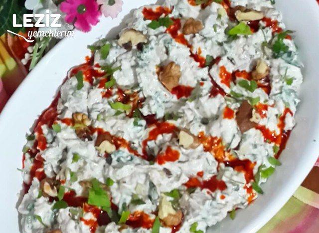 Labneli Köz Patlıcan Salatası