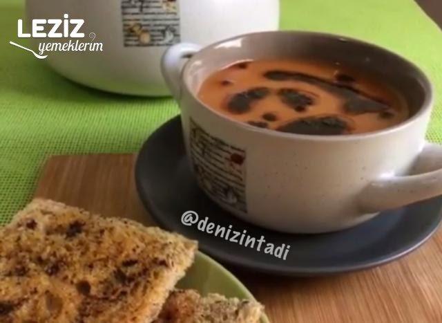 Kıymalı Tarhana Çorbası Yapılışı
