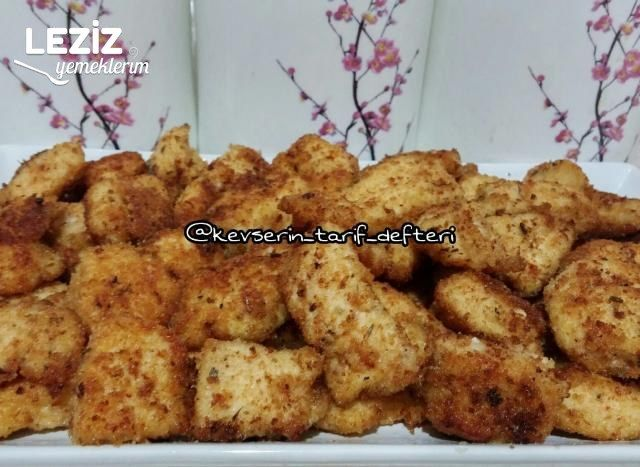 Kolay Çıtır Tavuk Tarifi (Az Malzemeli)
