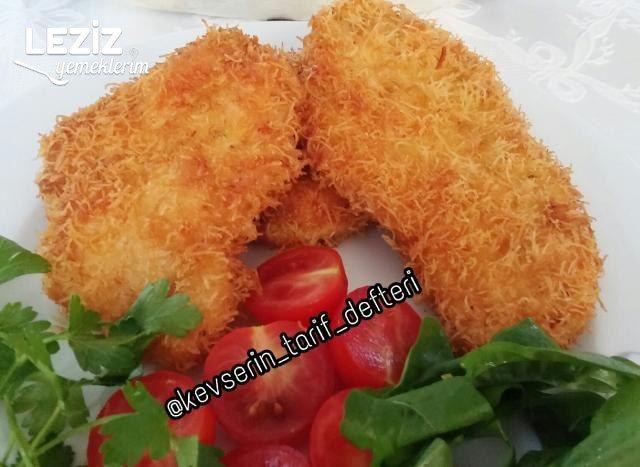 Kadayıflı Çıtır Çıtır Tavuk Schnitzel (15 Dakikada Hazır)