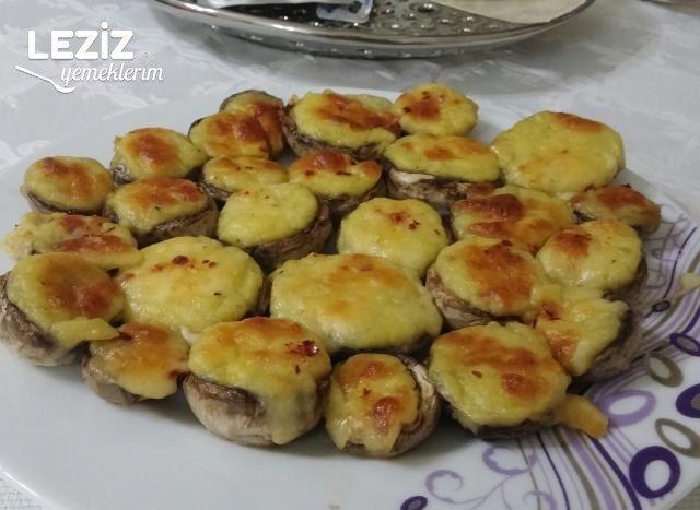 Patates Püreli Kaşarlı Mantar (Et Tavuk Yanına Garnitür)