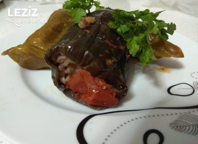 Malatya Usulü Biber Ve Patlıcan Dolması