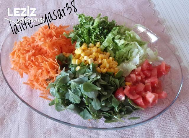 Karışık Salata Yapımı