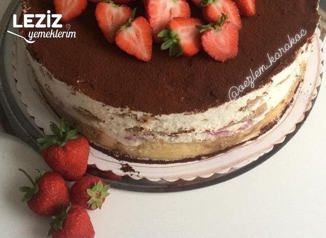 Çilekli Tiramisu Pastası ( Bayılacaksınız)