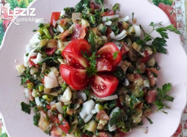 Kolay Patlıcan Salatası