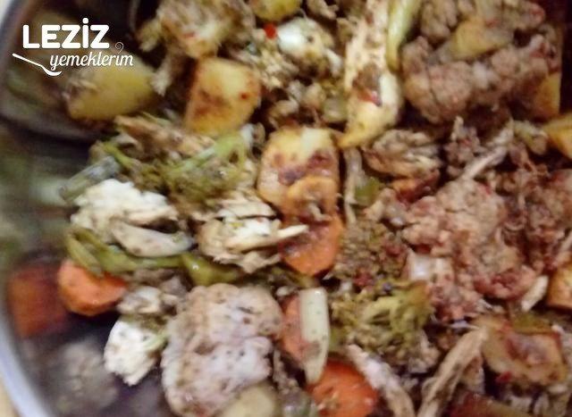 Bol Sebzeli Fırında Tavuk