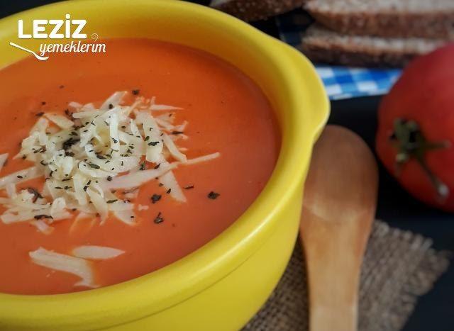 Domates Çorbası (Tam Kıvamında)