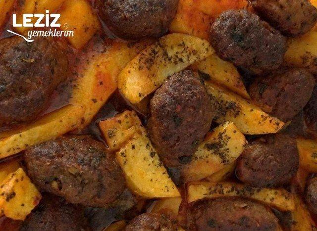 Fırında Patatesli Köfte (Mutlaka Deneyin)
