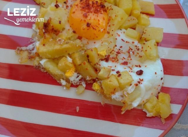 Kahvaltılık Patatesli Yumurta