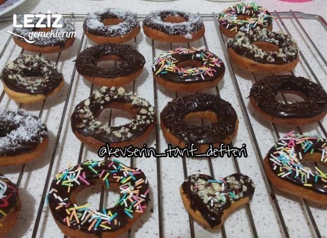 Pişi Hamurundan Donut (Yağ Çekmeyen Mayasız)