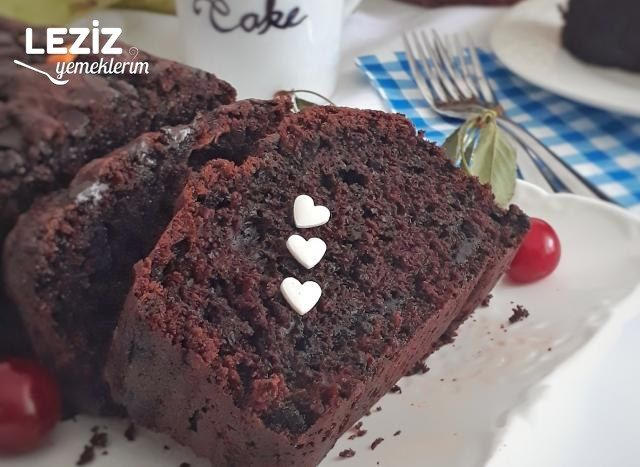 Kabaklı Kakaolu Kek Tarifi