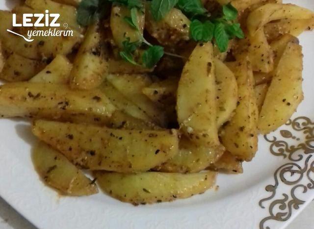 İddialı Soslu Elma Dilim Patates