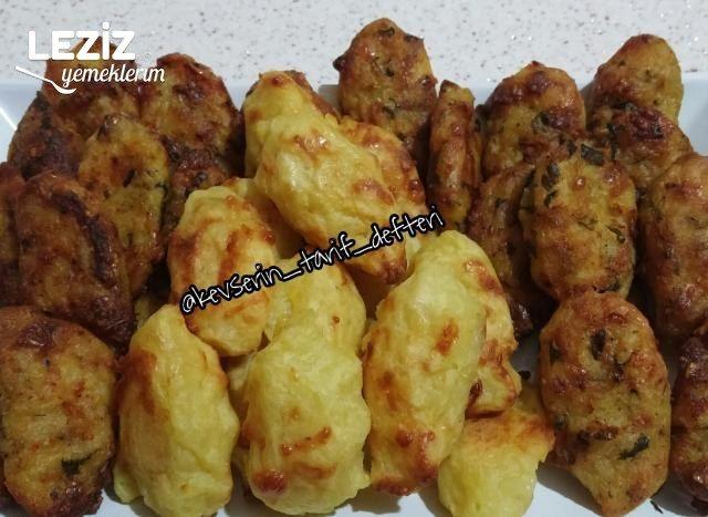 Fırında Patates Köftesi (Yumurtasız Ve Unsuz)
