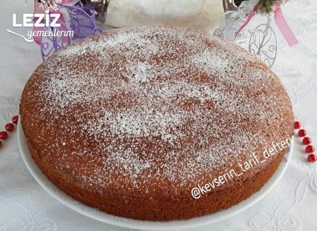 Gazozlu Kek Tarifi (Yağsız 5 Malzemeli)