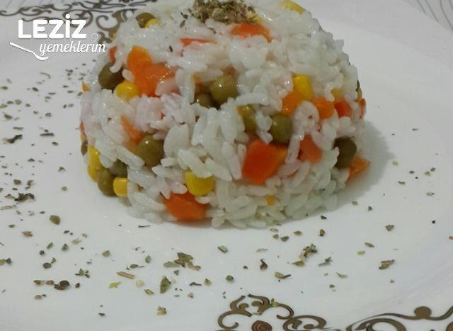 Garnitürlü Muhteşem Pirinç Pilavı