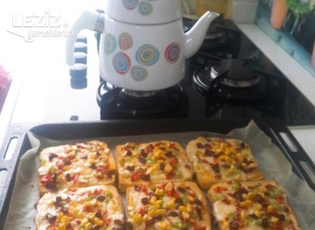 Pratik Pizza (Çok Lezzetli)