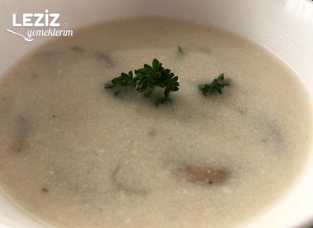 Kremalı Mantar Çorbası (Çok Pratik)