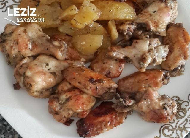Fırın Poşetinde Tavuk Patates