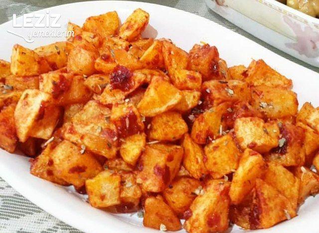 Kahvaltılık Salça Soslu Patates Kızartması