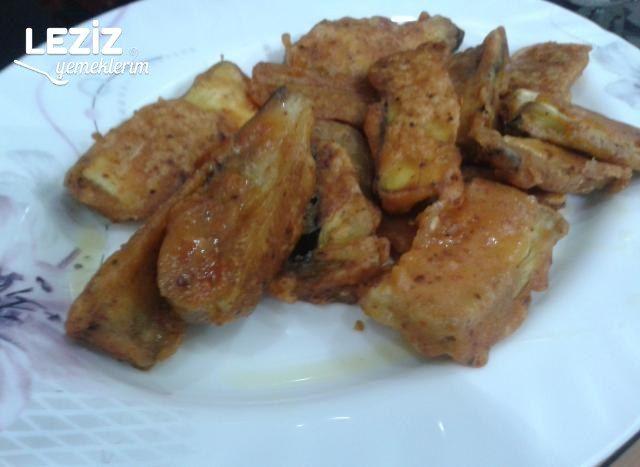 Puf Puf Unlu Patlıcan Kızartması