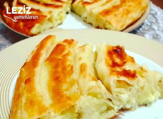 Tavada Puf Puf Kabaran Patatesli Börek