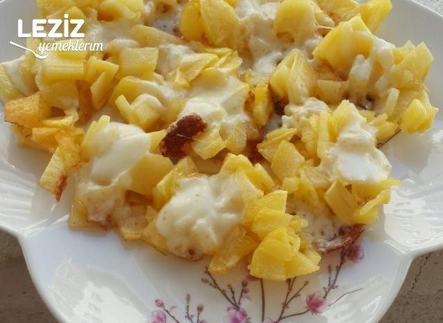 Kaşarlı Patates Kavurması