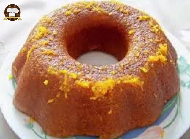 Portakal Sulu İrmikli Kek