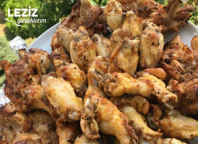 Mangal Tadında Tavuk Kanat