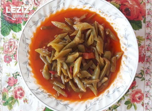 Taze Fasulye Yemeği (Kıymasız)